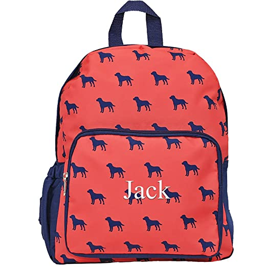 Personalized Childrens Toddlers Preschool Backpacks for Girls and Boys (Dog  Days) 5a36d3e1b03cb