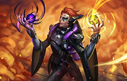 Amazon Com Overwatch Moira Poster Character Support Type Prints