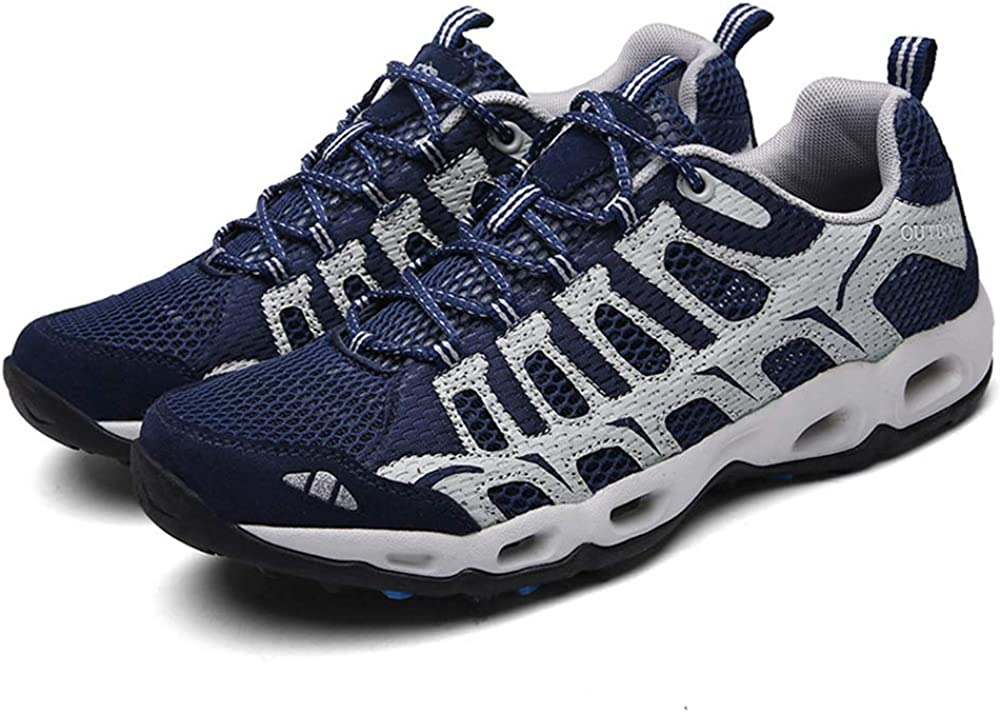 SELCNG Hiking Shoes Unisex Walking Shoes Waterproof Walking Shoes Mens Walking Shoes with Outdoor Sports Hiking Shoes Non-Slip Outsole