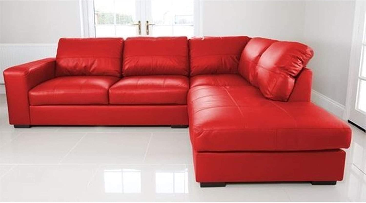 Sofas and More WESTPOINT - CORNER SOFA - FAUX LEATHER ...