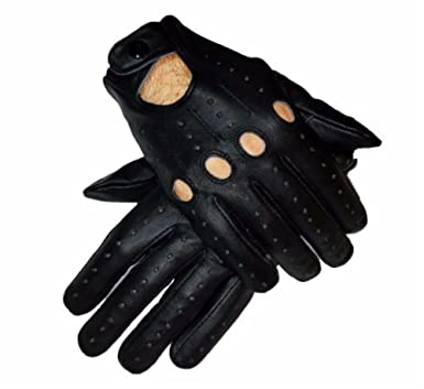 660deb266e3ef9 Amazon.com: Men's Leather Driving Costume Cosplay Fashion Gloves ...
