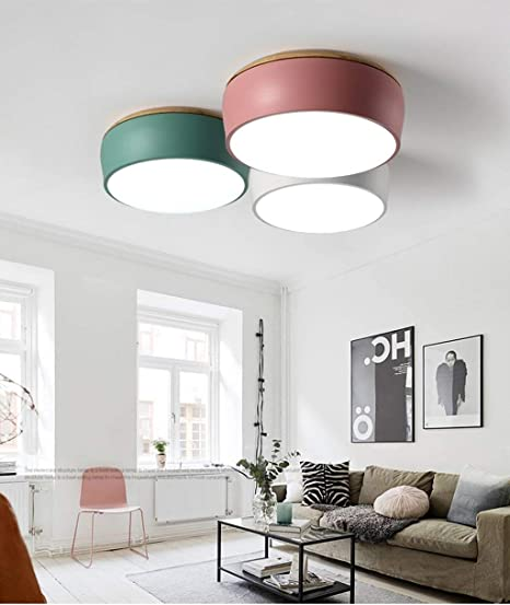 Lámparas Colgantes Nordic Chandelier Dormitorio Sala de ...
