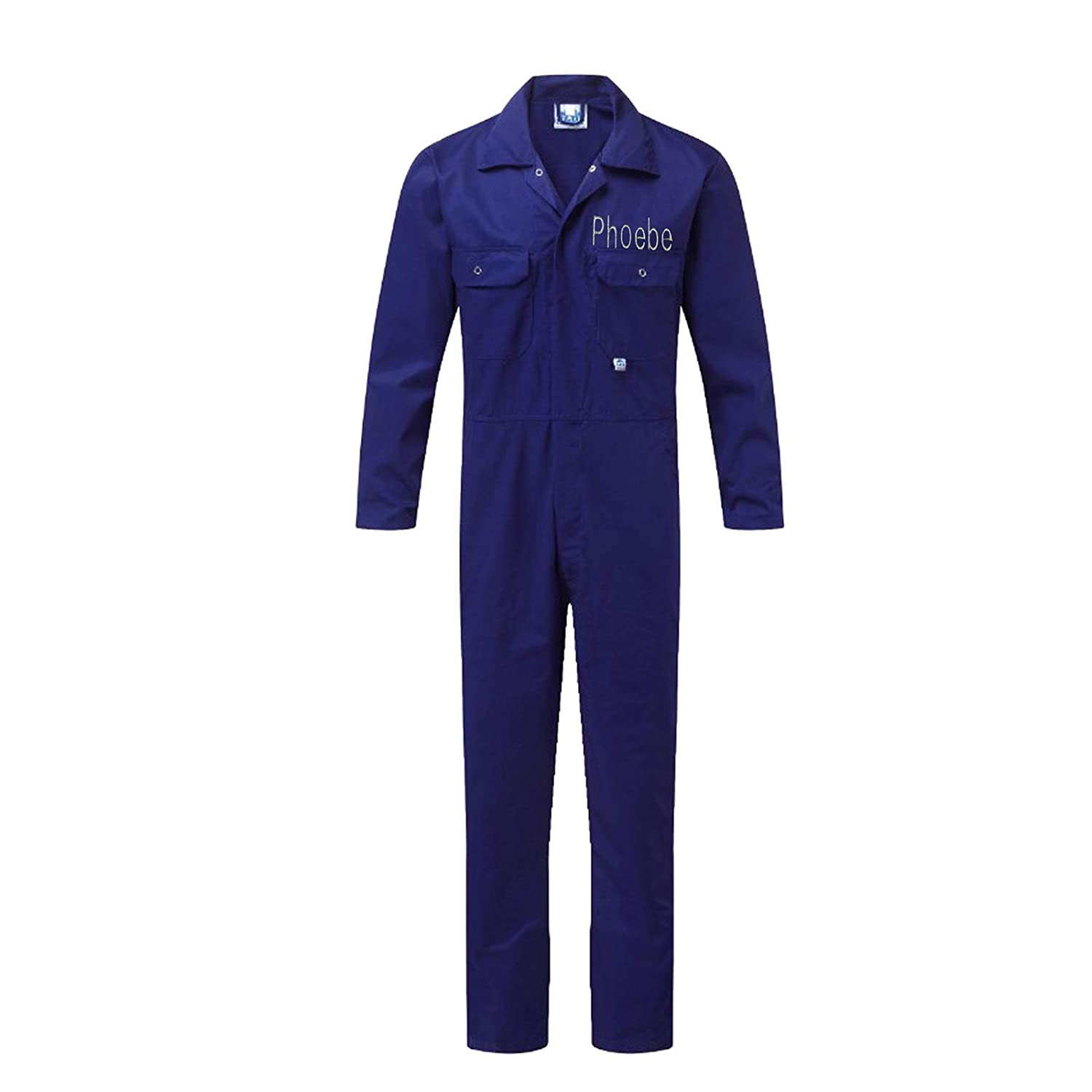 Personalised Children//Kids Boiler Suit//Coverall//Overall 1-7 Years Boy Girl Gift