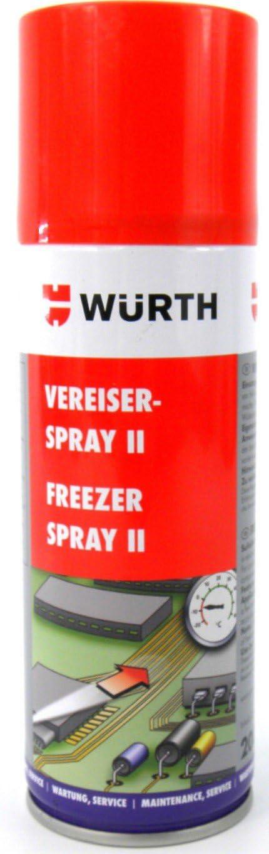 Würth Aerosol Congelador Freezer Spray II -52°C Fallo Eléctrico ...