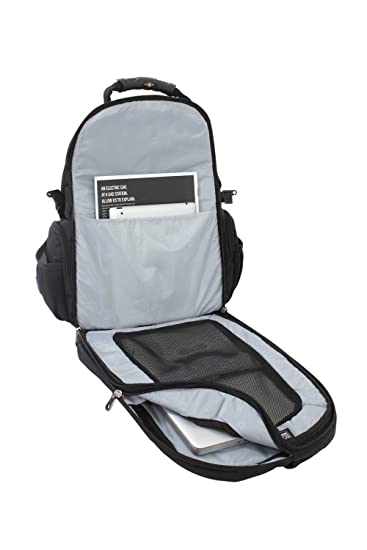 76440ceff911 Swiss Gear TSA Backpack for 17-Inch Laptop with Accessory Pockets (SA1753)   Amazon.in  Bags