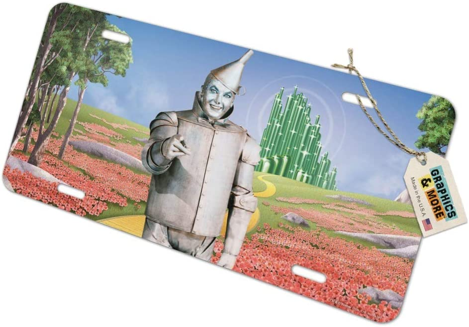 Graphics and More Wizard of Oz Tin Man Character Novelty Metal Vanity Tag License Plate