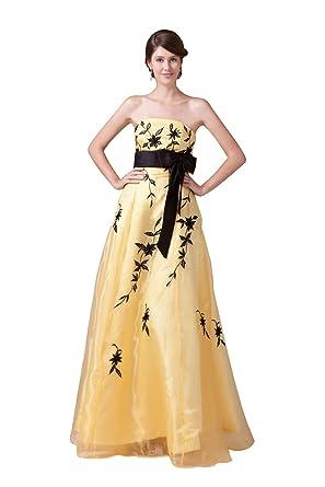 7b123dfade907  Wonderfulドレス 優しい黄色ロングドレス 独特なデザイン イエロー フォーマルドレス イブニングドレス