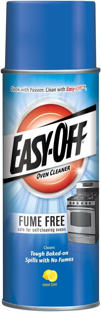 Easy-Off Fume Free Oven Cleaner, Lemon 14.5 oz Can (Pack of 24)