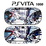 Decorative Video Game Skin Decal Cover Sticker for Sony PlayStation PS Vita (PCH-1000) - Gundam