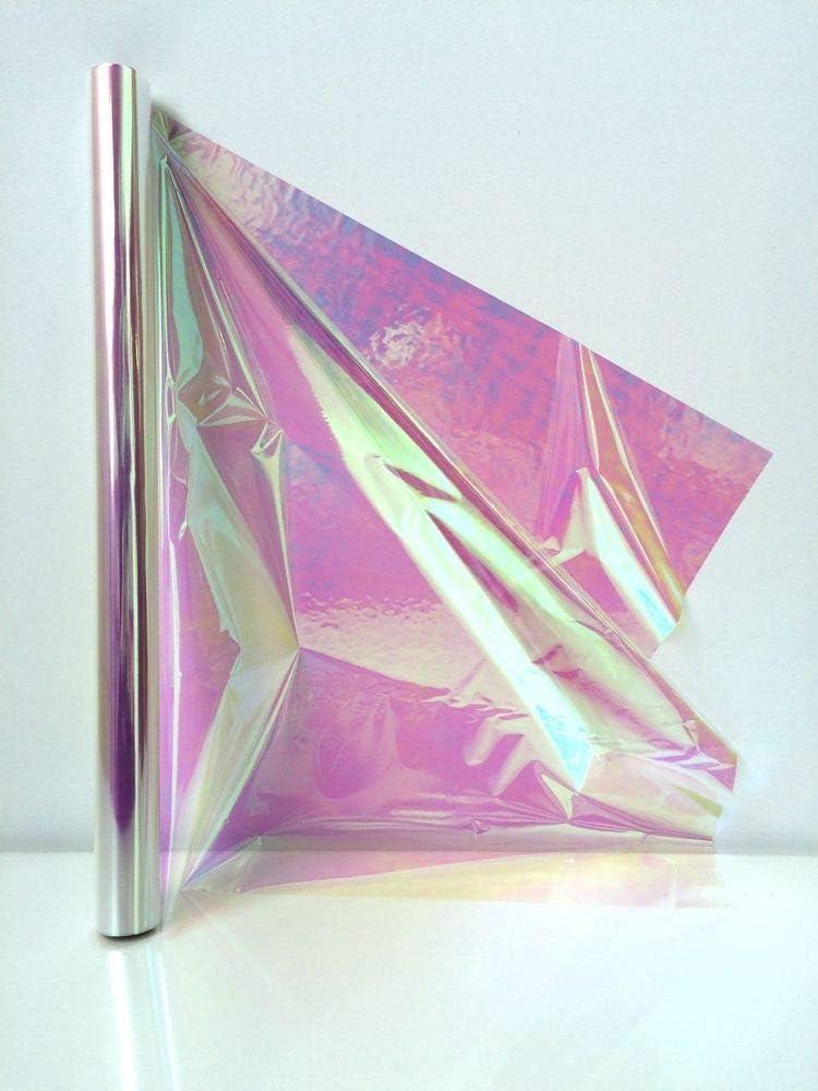 "Amscan Cellophane Wrap, 10' x 30"", Opal Iridescent: Kitchen & Dining"