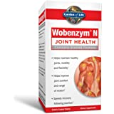 Garden of Life Joint Support Supplement - Wobenzym N Systemic Enzymes, 400 Tablets