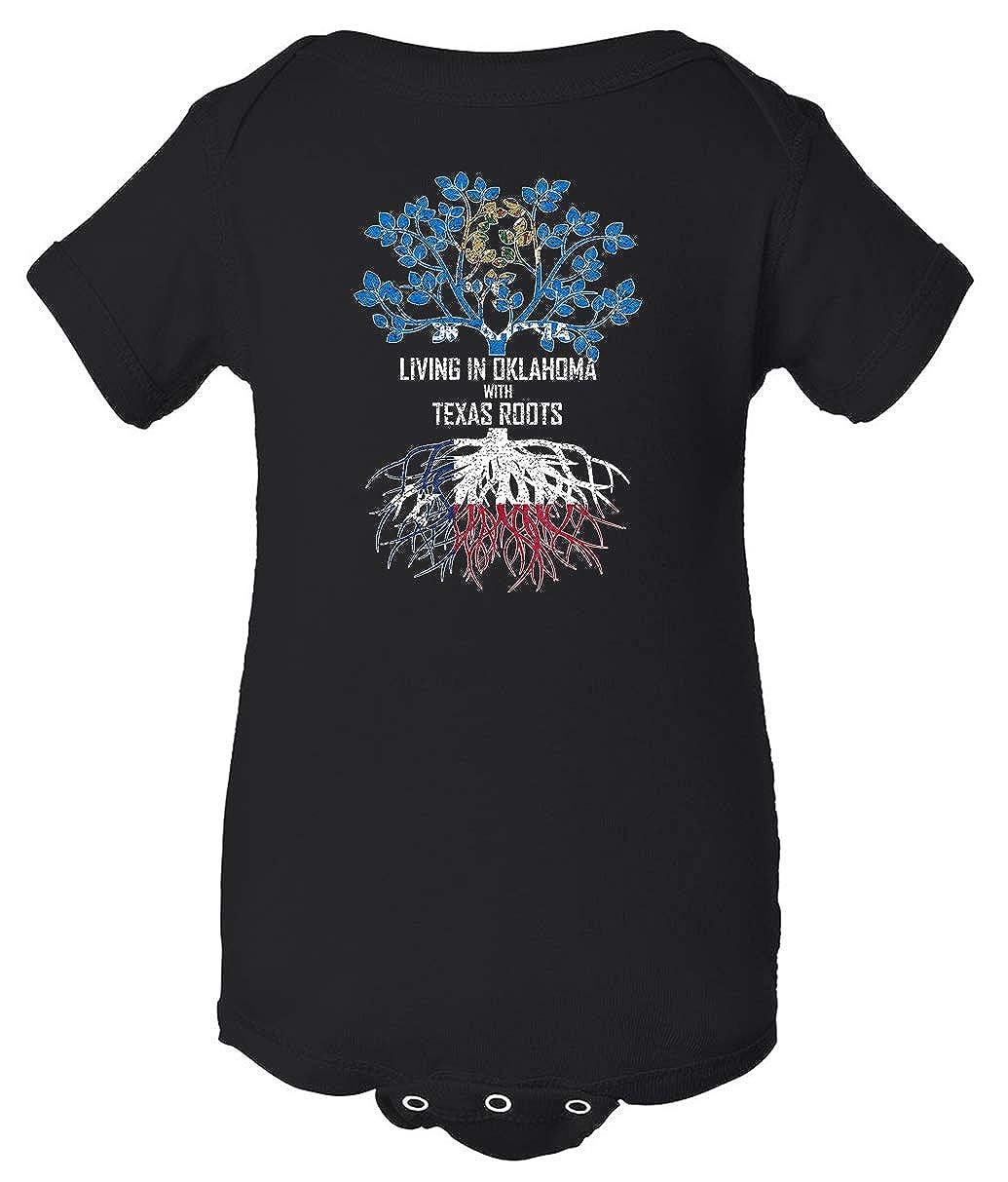 Tenacitee Babys Living in Oklahoma Texas Roots Shirt