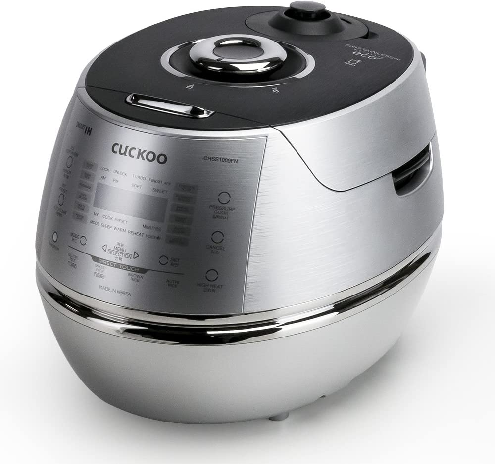 cuckoo electric induction heating pressure cooker