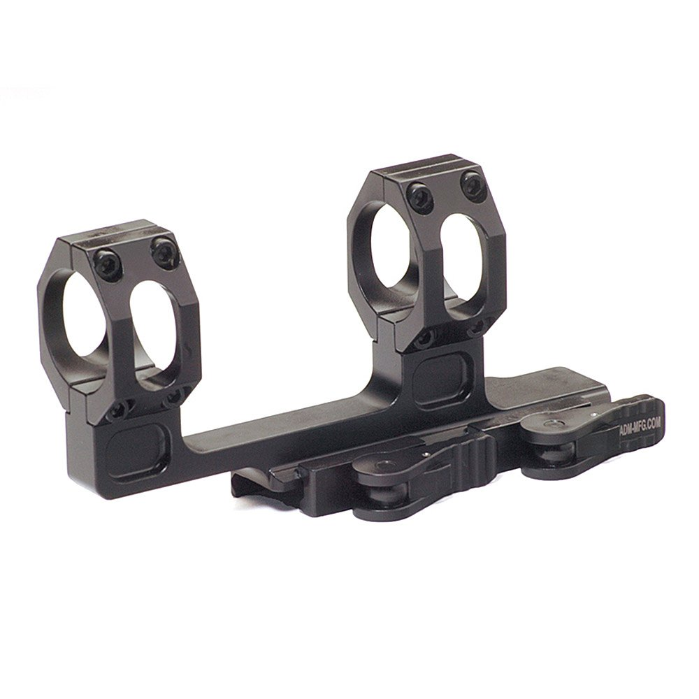 American Defense AD-Recon-H 30 STD Riflescope Optic Mount, Black by American Defense Mfg.