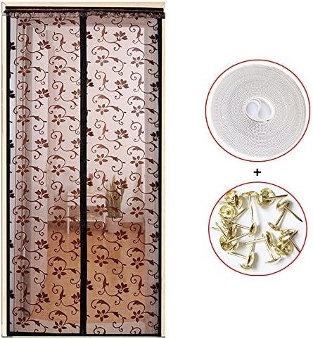 Bedroom 35x87inch Screen Door partition Curtain Door Living Room Closed Automatically.-K-90x220cm LoveHome Summer Magnetic Screen Door