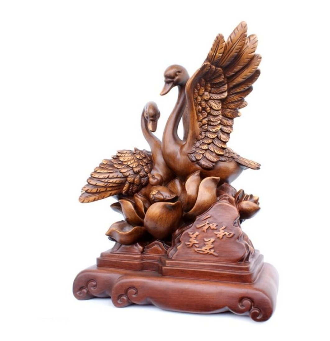 GL&G High-end Home Decorations Creative love Resin Crafts marry gift Anniversary Marriage room Tabletop Scenes Ornaments Sculptures,A,362546cm by GAOLIGUO