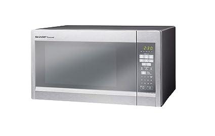 Amazon.com: Sharp 1.8 Cu. Ft. Sensor Microwave Oven R-551ZM ...