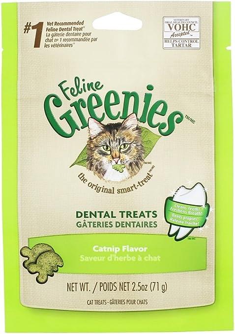Amazon Com Greenies Feline 2 5oz Value 3pks Catnip Pet Supplies