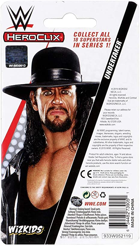 Undertaker Expansion Pack WZK73905 WWE HeroClix