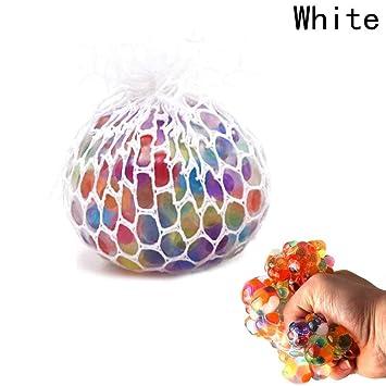 Pelota antiestrés, bola de silicona sensorial colorida con ...