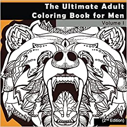 Amazon.com: The Ultimate Adult Coloring Book for Men: Masculine ...