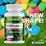 Hemp Gummies (2500mg) - Made in USA - 84 mg per