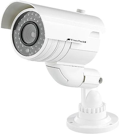 Überwachungskamera Attrappe Dummy Überwachung Kamera Camera Dome mit LED