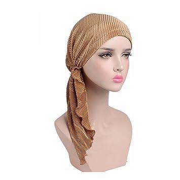 Komfort Bandana Ultraweiches Kopftuch Mit Binde An Der Ruckseite