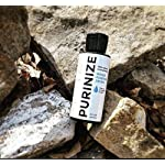 PURINIZE - The Best and Only Patented Natural Water Purifying Solution - Chemical Free Camping and Survival Water Purification 10 Add 20 drops per quart (liter) or 1 tsp. per gallon of water. Shake/stir well & let stand for at least 60 minutes. (Depending on water quality, additio