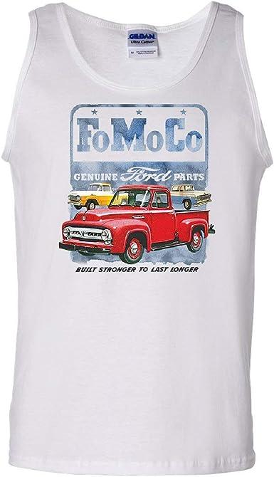 FoMoCo Ford Motor Company Tank Top Built Stronger to Last Longer Sleeveless
