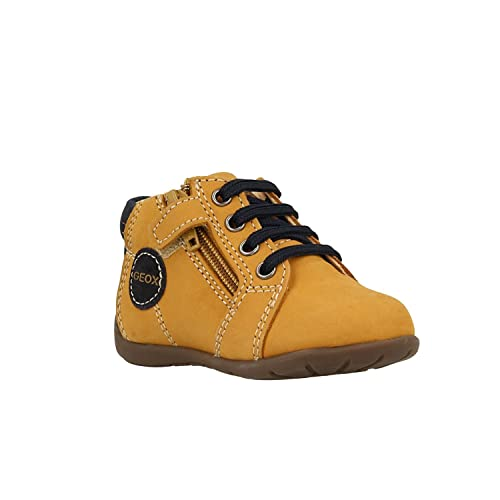 chaussures geox garcon moutarde