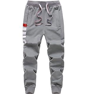 LAUSONS Boys Sports Trousers Cotton Tracksuit Bottoms Joggers