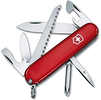 Amazon.com: Victorinox Swiss Army Hiker, Red,One Size ...