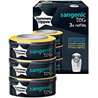 Tommee Tippee Sangenic Nappy Disposal Refill Cassette (3-Pack)_Clear Citrus Scented
