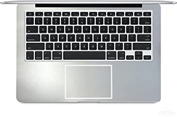 2-pack BingoBuy Customized Free Cut half Palm Rest Palmrest vinyl sticker w// Touchpad Trackpad sticker for 17 Apple Macbook pro with retina Model A1297 shimmery red