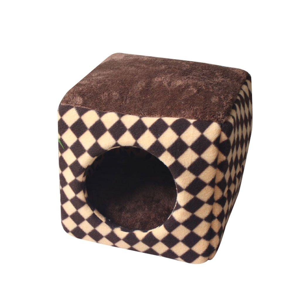 Amazon.com : Pet Bed Dog Mat Cat House Small And Medium Pet Sleeping Bag Pet Mat Square Dog Nest Pet Supplies (Color : B, Size : 333333cm) : Pet Supplies