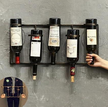 estantes de vino Estante de almacenamiento de vino titular, estante de vino, estante de