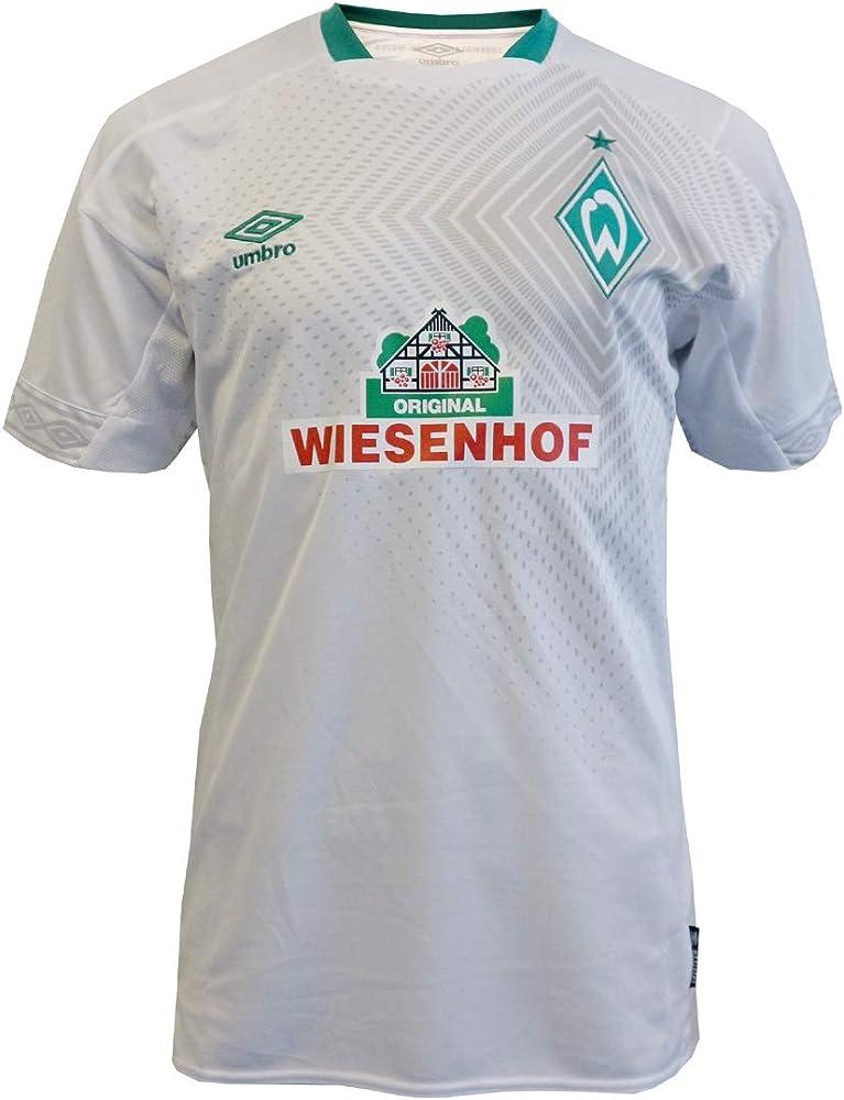 Umbro Sv Werder Bremen 3rd 2018/2019 Camiseta, Weiß/Grün, L para ...