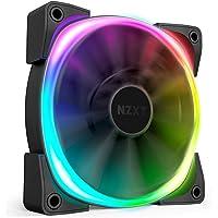 NZXT AER RGB 2-120mm - Advanced Lighting Customizations - Winglet Tips - Fluid Dynamic Bearing - LED RGB PWM Fan for Hue…