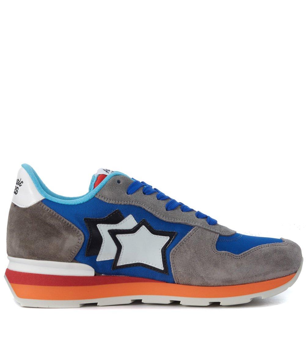 Atlantic Stars Sneakers Antares Sueacute;de Grau und Textil Blau  40 EU|Grau