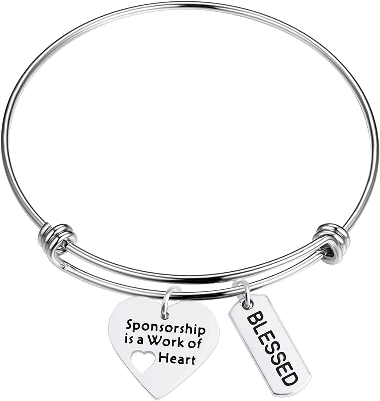 BNQL Sponsor Bracelet Sponsorship is a Work of Heart Bracelet with Blessed Sponsor Gift