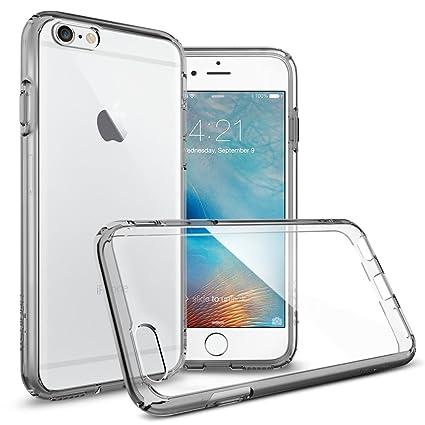 Spigen iPhone 6S Hülle, [Ultra Hybrid] Luftpolster-Technologie [Space Crystal] Durchsichtige Rückschale und TPU-Bumper Schutz
