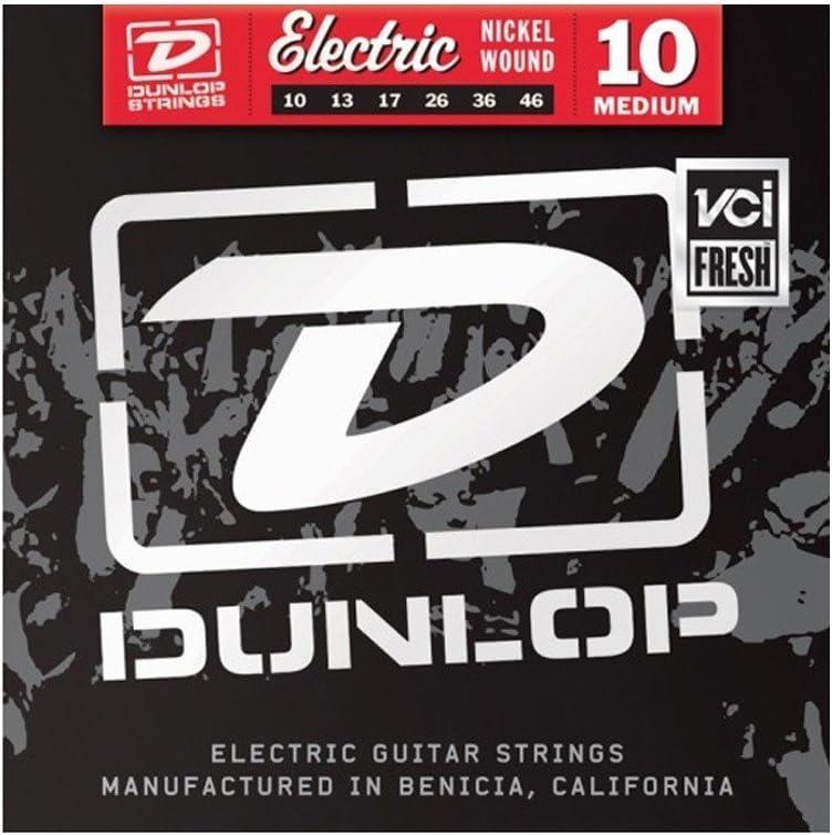 Jim Dunlop den20calibre 20cuerdas de guitarra eléctrica (acero bañado en níquel (Single)