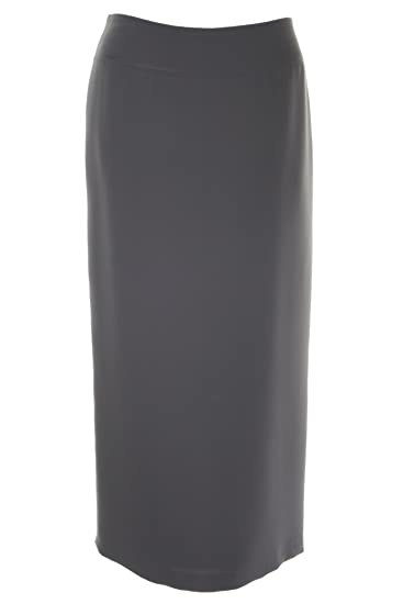 47a099bb03 Busy Clothing Women Long Skirt Grey: Amazon.co.uk: Clothing