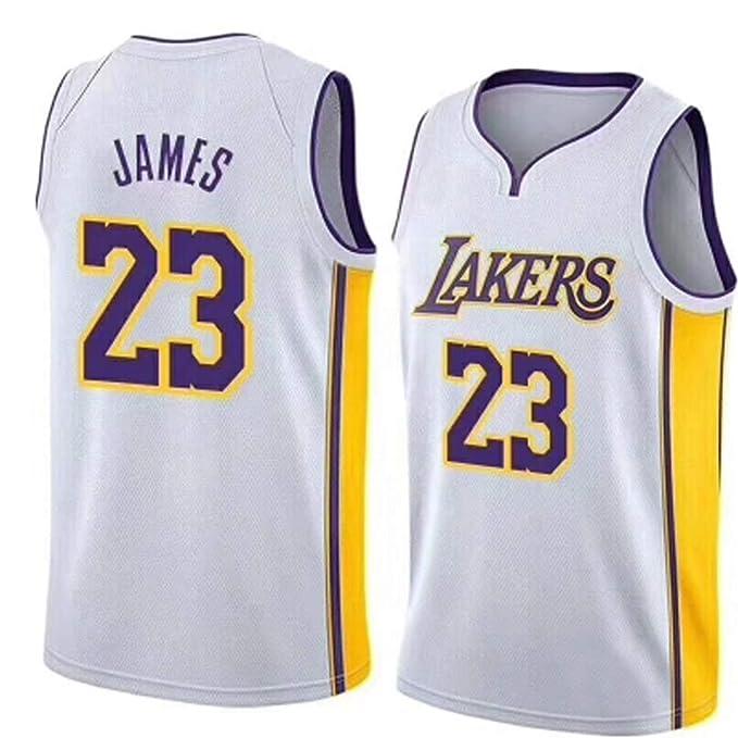 Camiseta de Baloncesto Lebron Raymone James NBA Sports Top ...