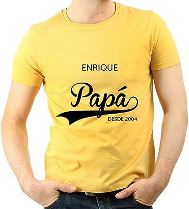 Calledelregalo Regalo Personalizado para Padres: Camiseta ...