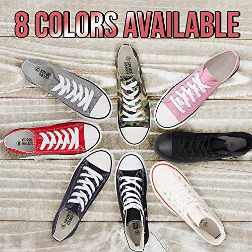 S-3 Kedi Designs KE DI Leather USA Womens S-3 Canvas Shoes Low Top Casual Lace up Fashion Running Walking Yoga Gym Sneaker (9, Black)