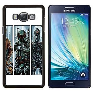 EJOOY---Cubierta de la caja de protección para la piel dura ** Samsung Galaxy A7 A7000 ** --B0Bba Fett - Bounty Hunter