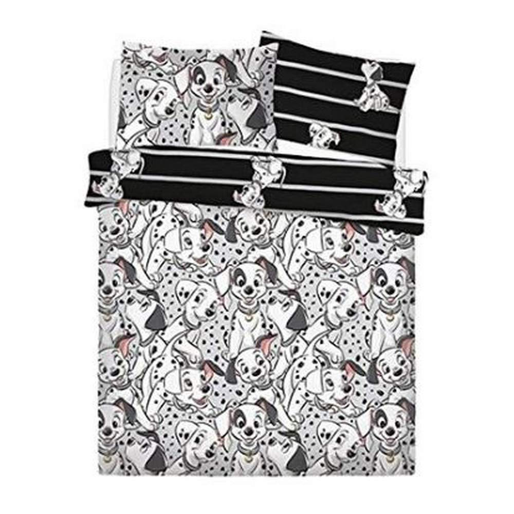 Disney 101 Dalmatians Reversible Rotary Unfilled Double/Full Bed Duvet Quilt Cover Set by Disney 101 Dalmatians