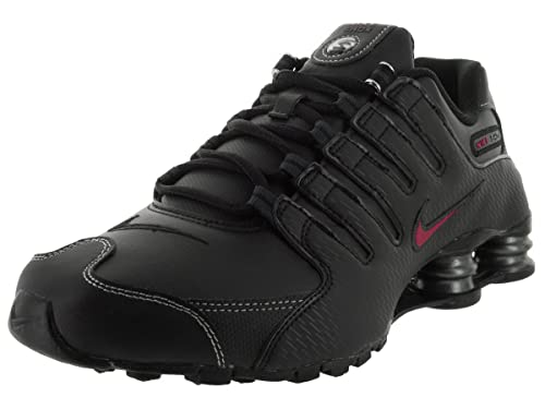 new arrival 3e752 72856 Nike Men's Shox NZ Black/Red 378341-017 (SIZE: 10)